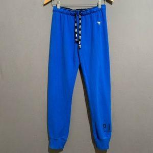 PINK Victoria's Secret • Blue Jogger Sweatpants